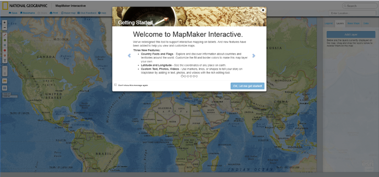 National Geographic MapMaker Interactive: A Review - CHRISTINA FRIEDLE